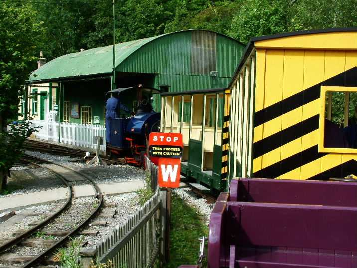 stop board railway